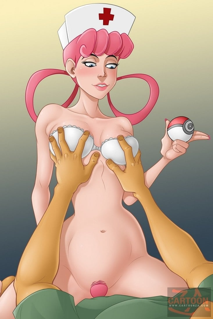 Nurse Joy takes care about everybody