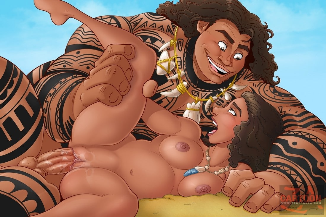 Moana craves for a fat dick