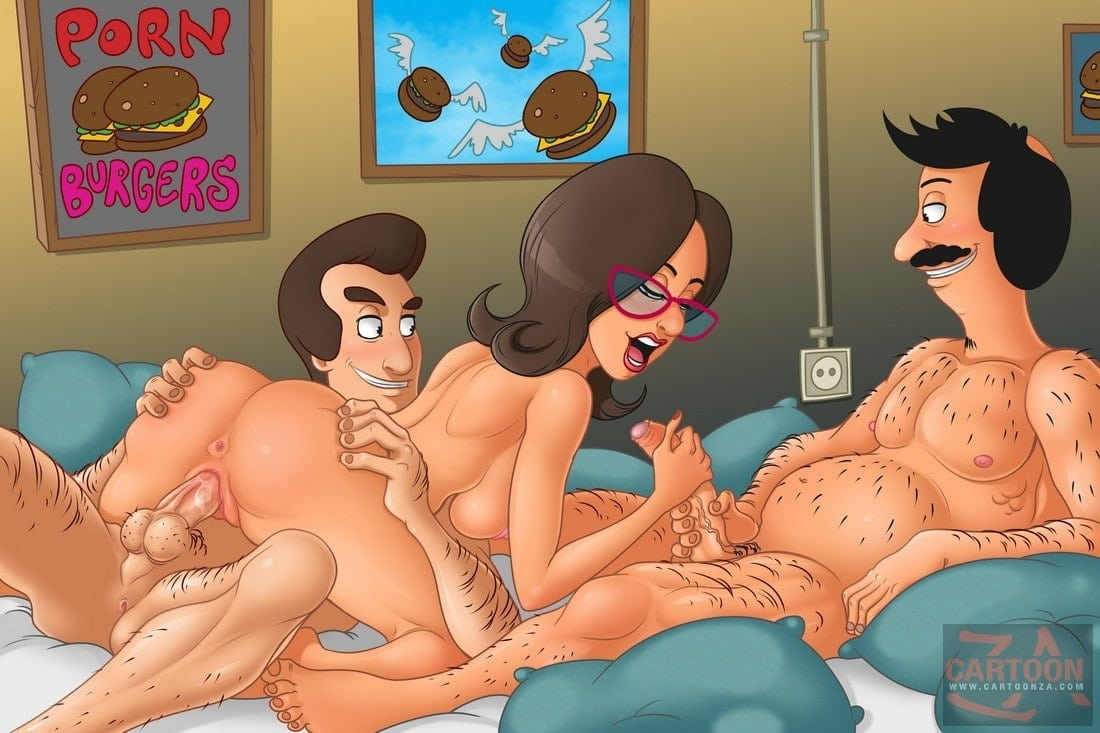 Linda Belcher threesome