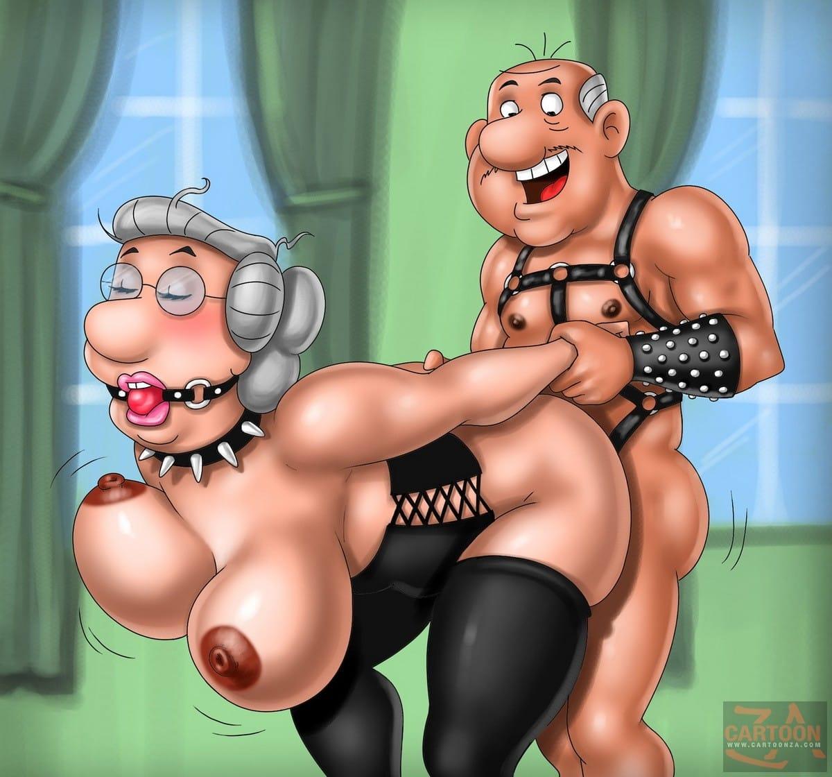 Geriatric Lust of George and Martha Wilson